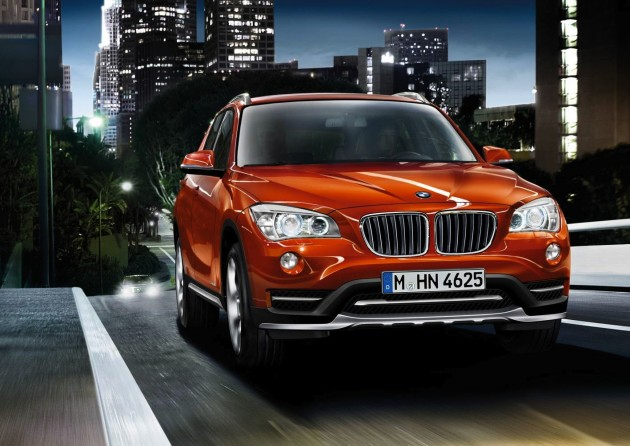 2014 BMW X1 facelift-orange