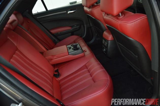 2014 Chrysler 300S-rear seats