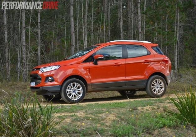 2014 Ford EcoSport Titanium-Mars Red