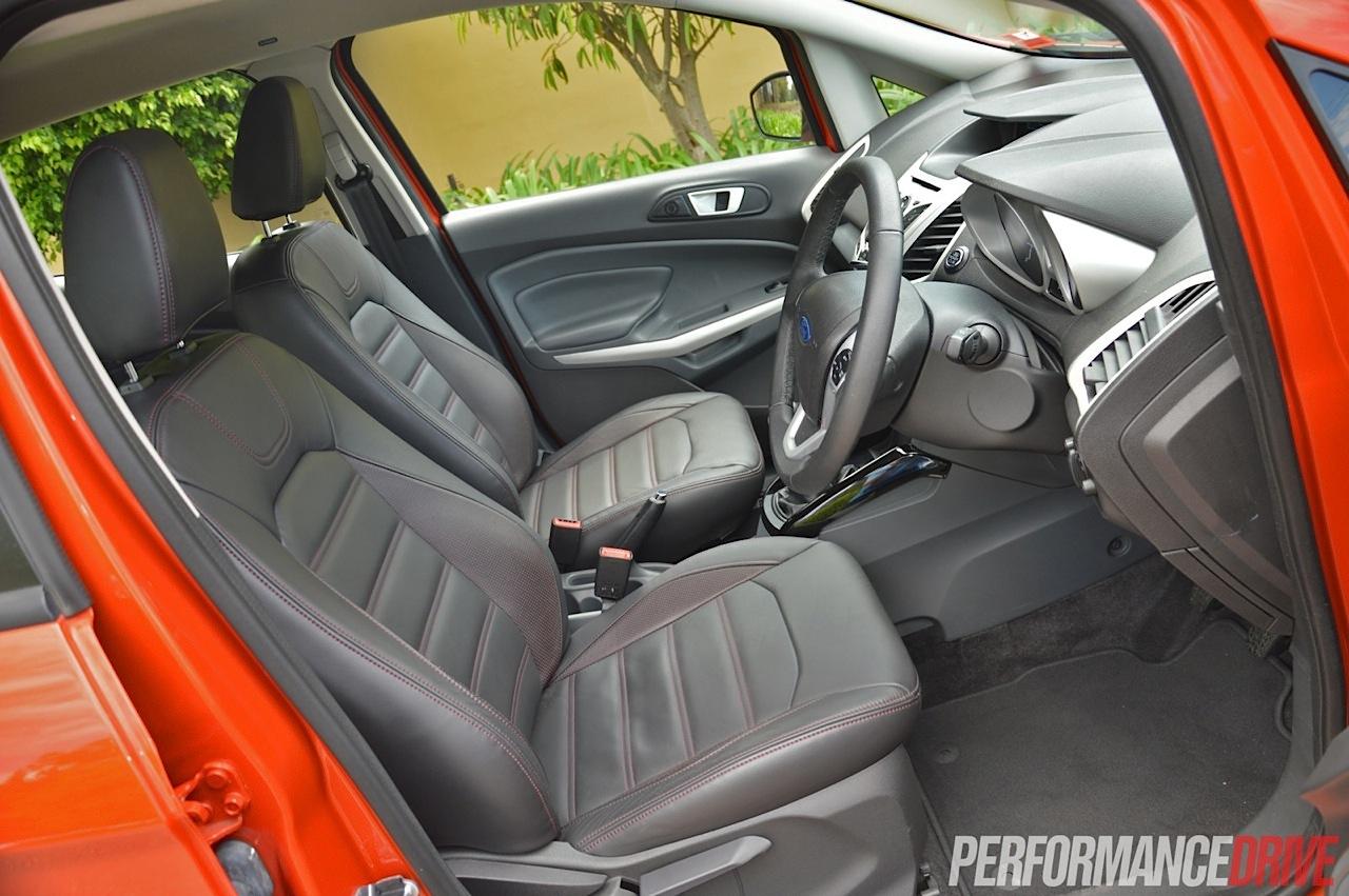 2014 Ford Ecosport Titanium Front Seats