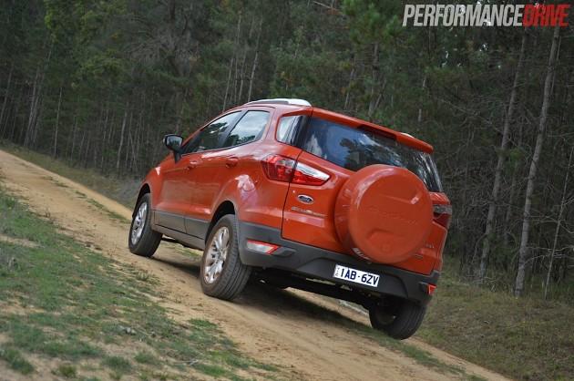 2014 Ford EcoSport Titanium-spare wheel