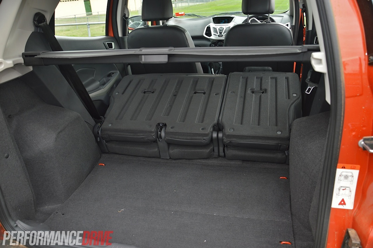2014 Ford EcoSport max cargo space