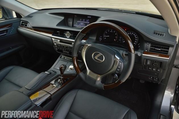 2014 Lexus ES 350 Sports Luxury-interior