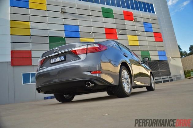 2014 Lexus ES 350 Sports Luxury-taillights