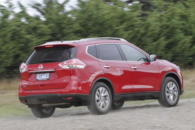 2014 Nissan X-Trail-rear