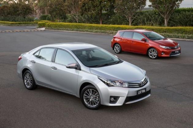 2014 Toyota Corolla sedan