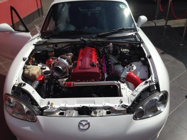 2JZ Mazda MX-5-engine
