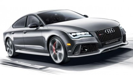 Audi RS 7 Dynamic Edition New York Show