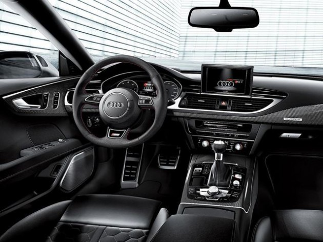 Audi RS 7 Dynamic Edition interior