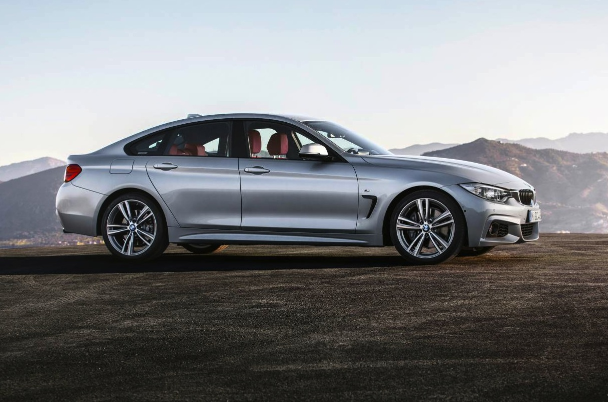 bmw 4 series gran coupe on sale in june from 70 000 performancedrive. Black Bedroom Furniture Sets. Home Design Ideas
