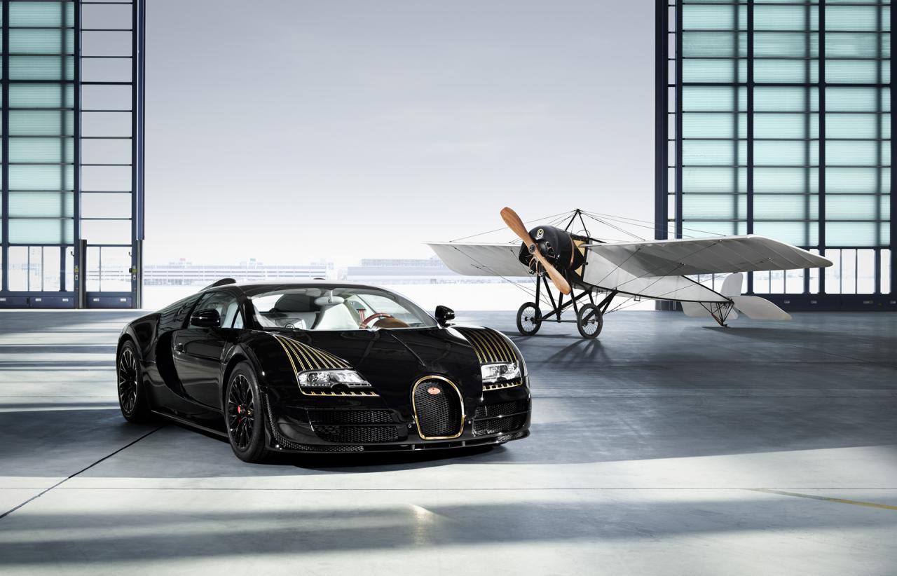 bugatti veyron black bess edition revealed 5th 39 legends 39 special p. Black Bedroom Furniture Sets. Home Design Ideas