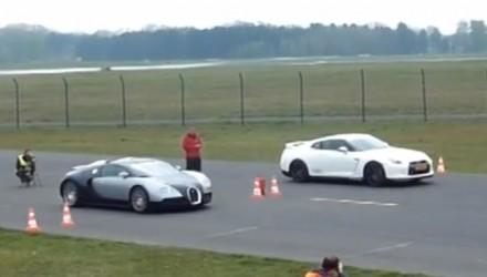 Bugatti Veyron vs Switzer Nissan GT-R