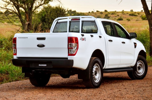 Ford Ranger 4x4 XL Plus rear