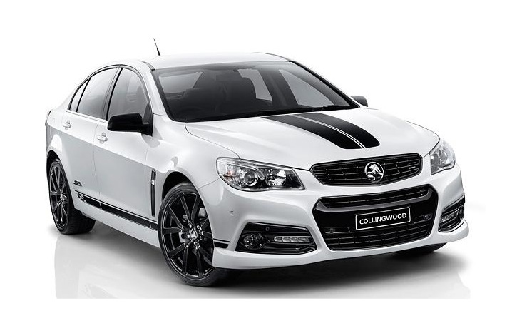 holden reveals special edition collingwood vf commodore performancedrive. Black Bedroom Furniture Sets. Home Design Ideas