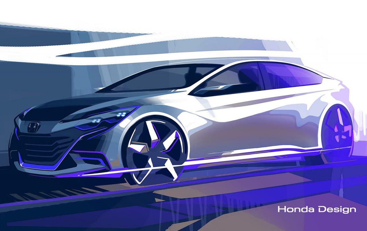 Honda coupe & Accord concepts heading to Beijing ...