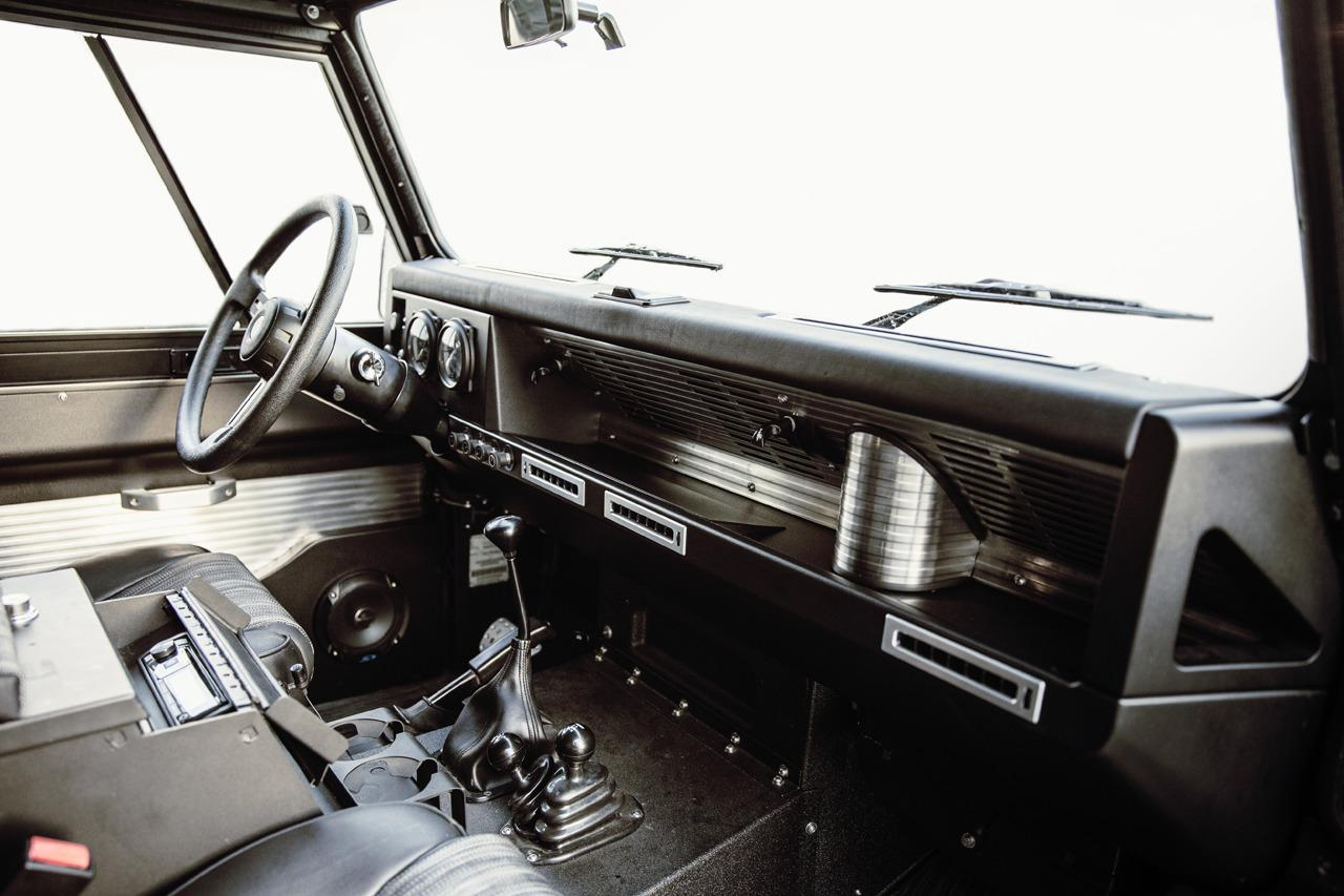 defender parked with limited when landrover models dashboard three edition send to land ran in off rover custom