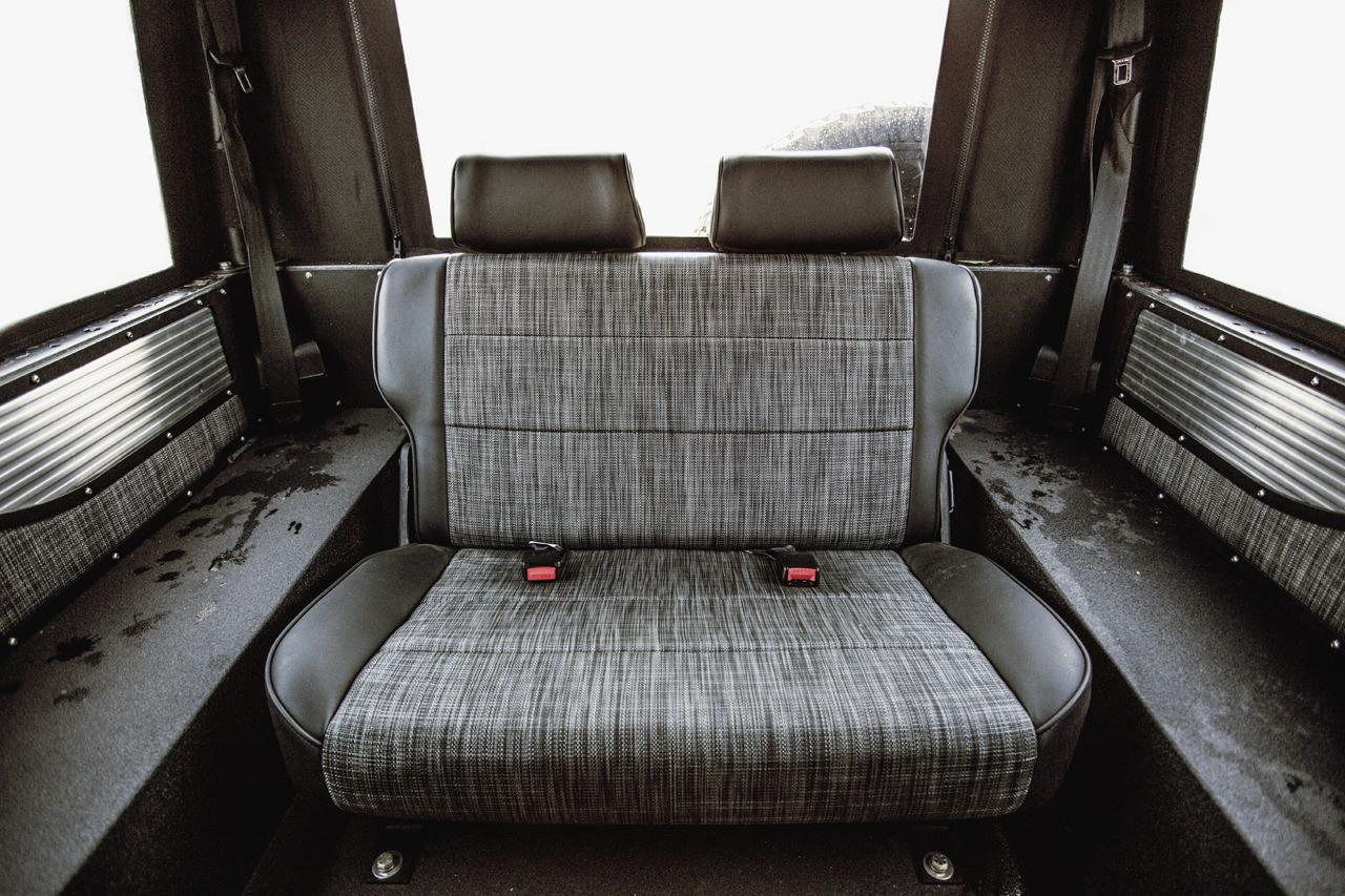 icon land rover defender 90 6 2 chev v8 rear seat. Black Bedroom Furniture Sets. Home Design Ideas