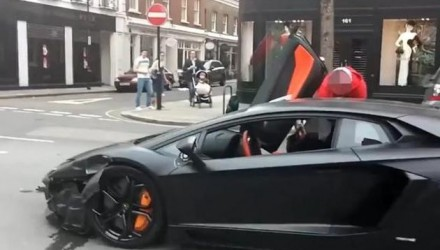 Crashes and fires archives page 8 of 19 performancedrive lamborghini aventador crash in london caught on video publicscrutiny Gallery