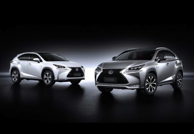 Lexus NX 300h and F Sport