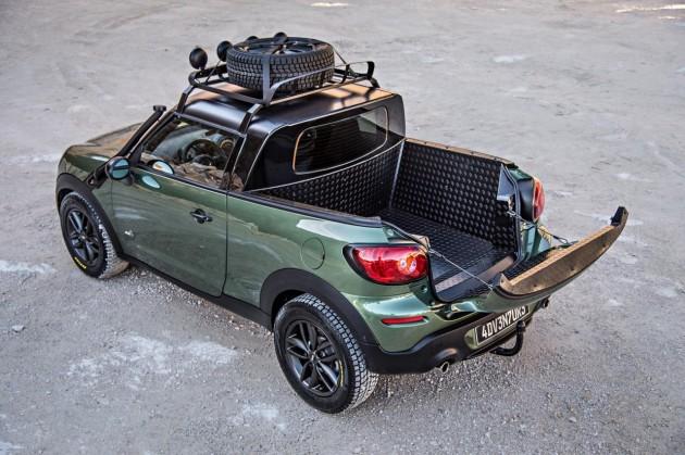MINI Paceman Adventure-tray