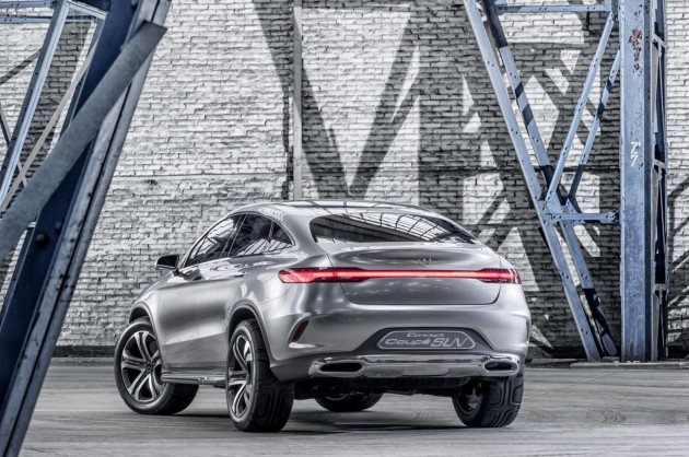 Mercedes-Benz Concept Coupe SUV-taillights