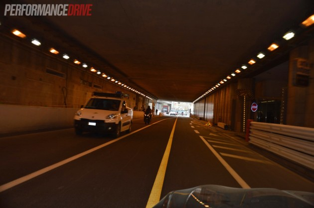 Monte Carlo tunnel exit-PerformanceDrive