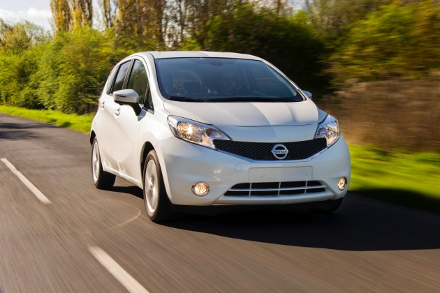 Nissan Note nano paint technology