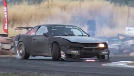 Nissan Silvia S14 Mercedes AMG V8 engine conversion