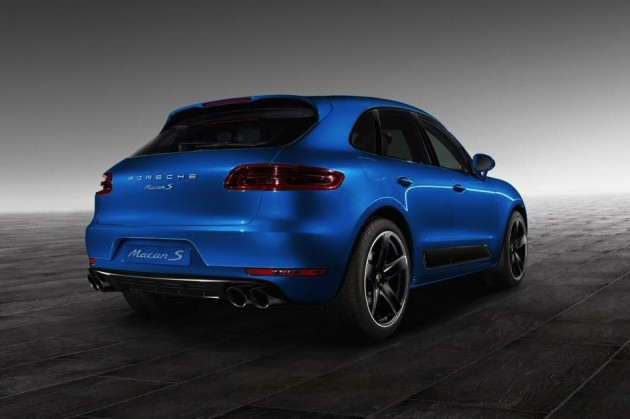 Porsche Macan S Exclusive package-rear