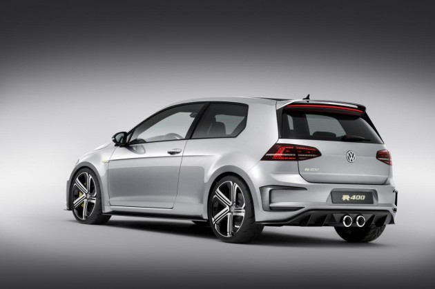 Volkswagen Golf R 400 concept-rear