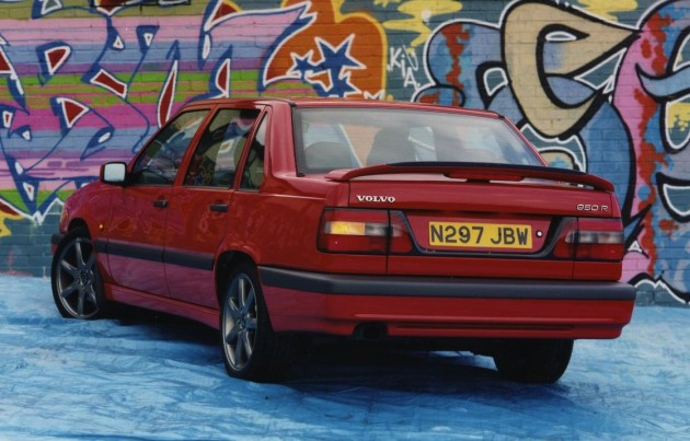 Volvo 850R-rear