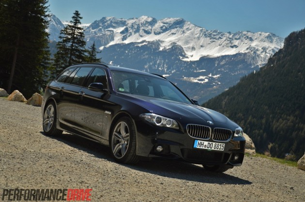 2014 BMW 520d M Sport-Swiss Alps