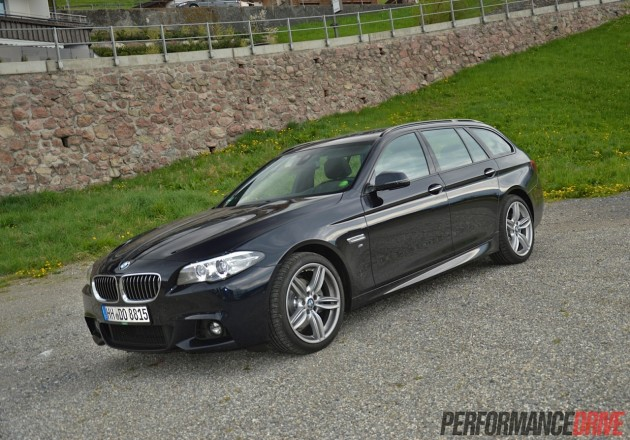 2014 BMW 520d Touring M Sport-Imperial Blue