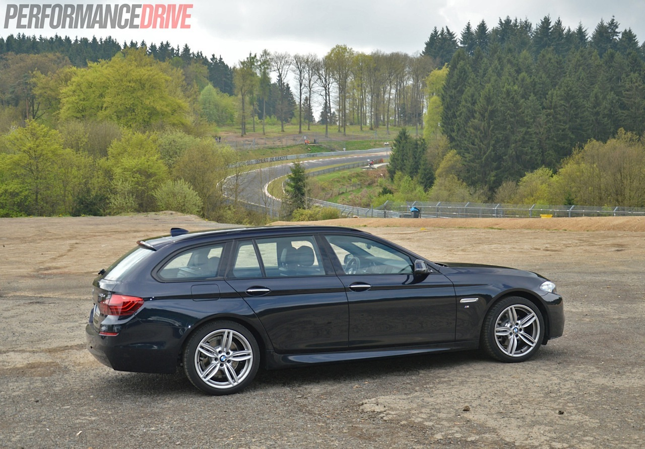Bmw 520d Touring M Sport Rear Cornering Car Pictures