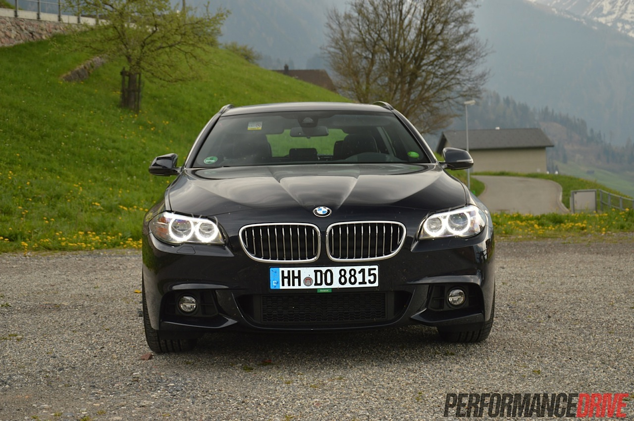 2014 BMW 520d Touring M Sport review (video)
