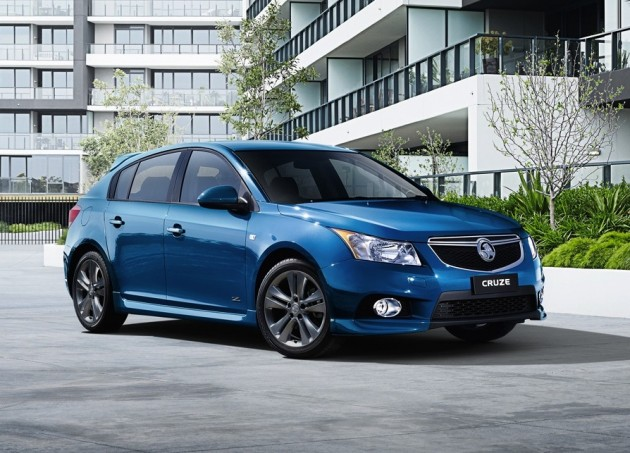 2014 Holden Cruze SRi Z-Series hatch