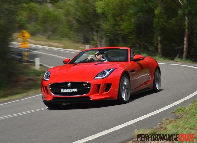 2014 Jaguar F-Type V8 S-PerformanceDrive