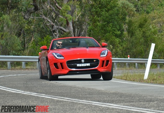 2014 Jaguar F-Type V8 S-Salsa Red