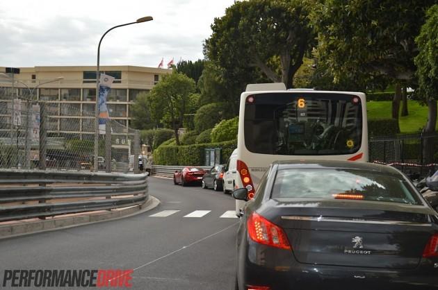 2014 Monaco Monte Carlo F1 track-McLaren 12C