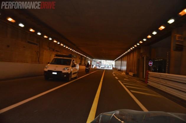 2014 Monaco Monte Carlo F1 track-tunnel