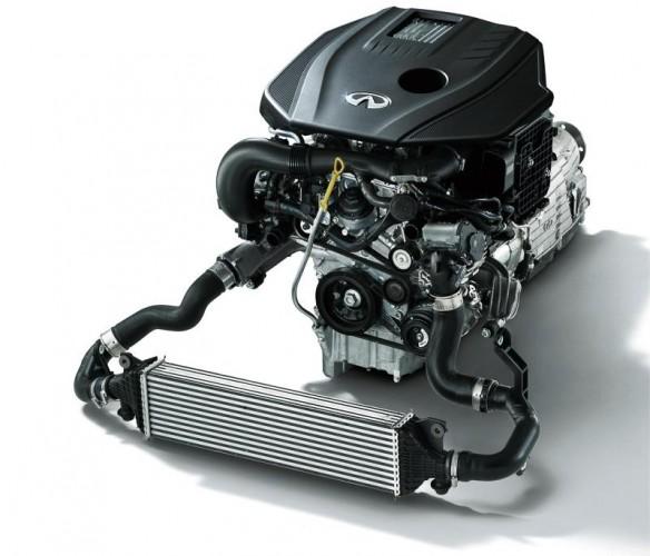 2014 Nissan Skyline 200GT-t-2.0T engine