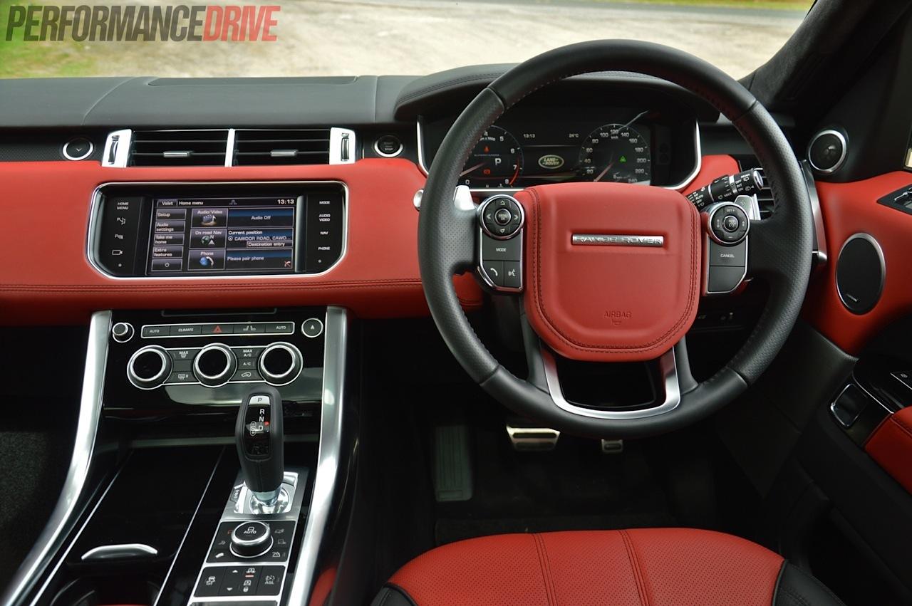 2014 Range Rover Sport Autobiography Dash