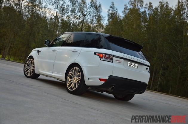 2014 Range Rover Sport-air suspension