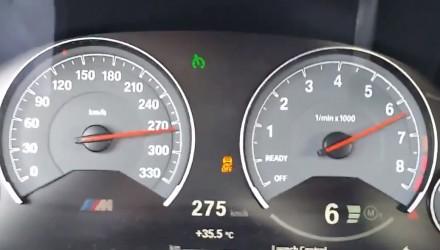 2015 BMW M3 0-275kmh