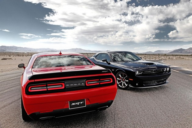 2015 Dodge Challenger SRT and Hellcat