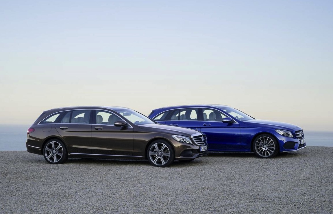 2015 mercedes benz c class estate revealed performancedrive. Black Bedroom Furniture Sets. Home Design Ideas