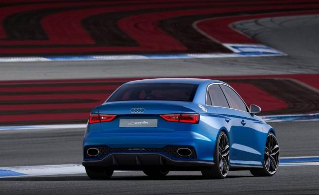 Audi A3 Clubsport Quattro concept-rear