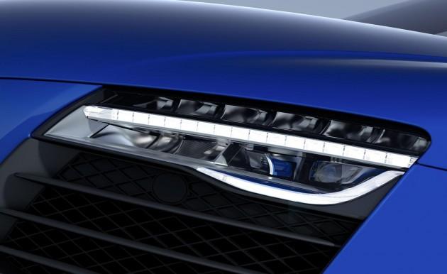 Audi R8 LMX-laser headlights