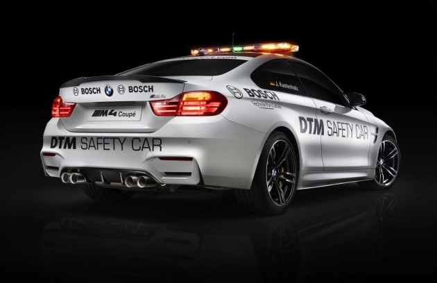 BMW M4 DTM safety car-rear