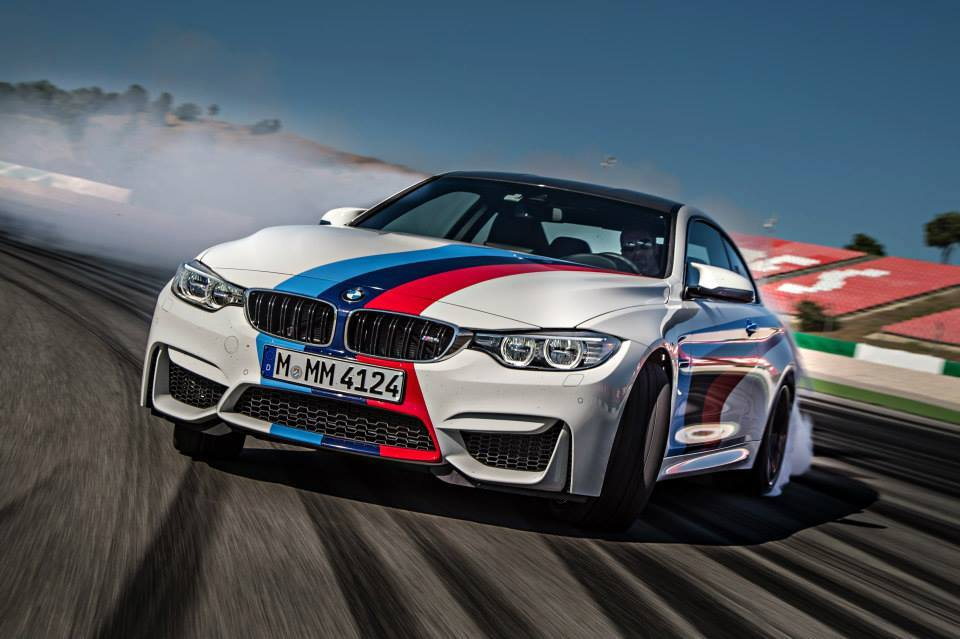 2015 Bmw M4 In Spectacular Drifting Fashion Performancedrive